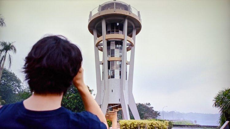 Seletar Rocket Tower 家族のレシピ 水辺の展望台