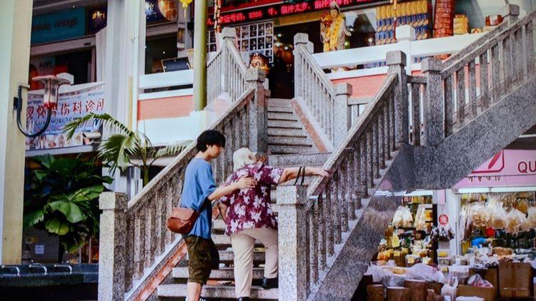 Albert Centre 家族のレシピ 真人(斎藤工)とおばあちゃんがスパイス等買っていた市場